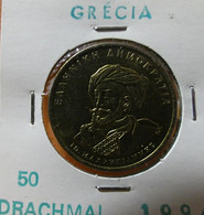 Greece 50 Drachmai 1994 Varnished - Grèce