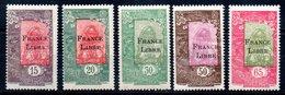 Côte Française Des Somalis Franz. Somaliküste Y&T 197** - 201** - Französich-Somaliküste (1894-1967)