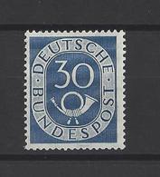 ALLEMAGNE FEDERALE.  YT  N° 18  Neuf *   1951 - [7] Federal Republic