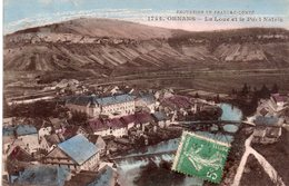 CPA, Ornans, La Loue Et Le Pont Natrin, Colorisée - Autres Communes