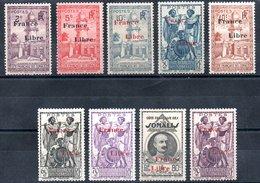 Côte Française Des Somalis Franz. Somaliküste Y&T 204*, 207*, 208*, 212*, 214*, 217* - 220* - Französich-Somaliküste (1894-1967)