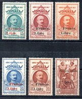 Côte Française Des Somalis Franz. Somaliküste Y&T 222*, 224*, 226* - 228*, 233* - Französich-Somaliküste (1894-1967)