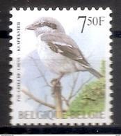 BELGIE * Buzin * Nr 2775 * Postfris Xx * FLUOR  PAPIER - 1985-.. Birds (Buzin)