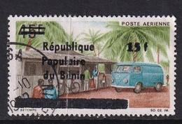 Benin 1986, Overprint, Minr C447. Cv 30 Euro, But Damaged Stamp - Benin - Dahomey (1960-...)