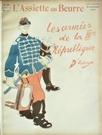 L'ASSIETTE AU BEURRE N°246 DU 16/12/1905 - LES ARMEES DE LA IIIé REPUBLIQUE - Dessins Par D'OSTOYA - Livres, BD, Revues