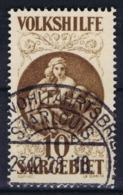 Deutsches Reich:  Saargebiet  M 134 Peter Winter Faux  / Forgery Obl./Gestempelt/used - Germania