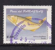 Paraguay 1998, Fish, Minr 4762, Vfu - Paraguay