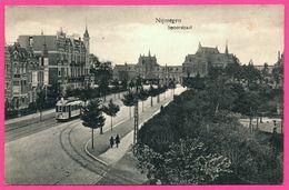 Nijmegen - Spoorstraat - Tram - Tramway - Animée - WEENENK & SNEL - Nijmegen