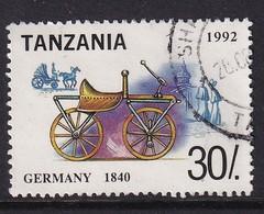 Tanzania 1992, Car, Minr 1446, Really Used - Tanzania (1964-...)