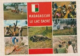 9AL907 MADAGARCAR TANANARIVE LAC SACRE BLASON 2 SCANS - Madagascar