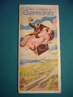 GERMANIA DEUTSCHLAND OLIMPIADI BERLINO 1936    DEPLIANTS ORIGINALE - Dépliants Turistici
