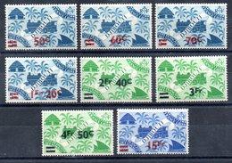 Côte Française Des Somalis Franz. Somaliküste Y&T 256** - 243** - Französich-Somaliküste (1894-1967)