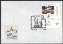 YN556    Austria 2000 Telekom Austria As A Partner Of Wipa, Telegraph, Telephone, Communication - Telecom