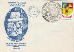 78406- JOHN 3RD THE TERRIBLE, PRINCE OF MOLDAVIA, SPECIAL COVER, 1979, ROMANIA - 1948-.... Républiques