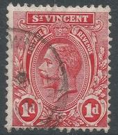 St Vincent. 1913-17 KGV. 1d Used. Mult Crown CA W/M. SG 109 - St.Vincent (...-1979)