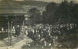 LA CHAUX DE FONDS - Parc Des Cretets, Kiosque, Carte Photo En 1918. - NE Neuchâtel