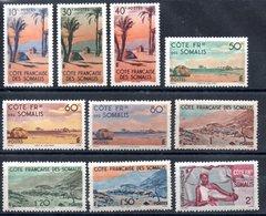 Côte Française Des Somalis Franz. Somaliküste Y&T 264**-268**, 269* - 272*, 273**, 274**, 275*, 278**, 279*, 281**, 282* - Französich-Somaliküste (1894-1967)