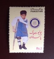 Pakistan 2000 Rotary Polio MNH - Pakistan