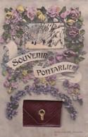 SOUVENIR DE PONTARLIER         CARTE A SYSTEME  COMPLETE - Pontarlier