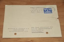 41-     BEDRIJFSKAART, MERREM & LAPORTE N.V. - AMSTERDAM - 1938 - Andere