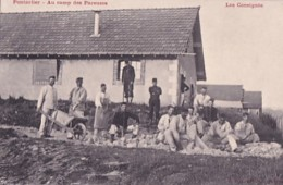 PONTARLIER           AU CAMP DES PAREUSES.    LES CONSIGNES - Pontarlier