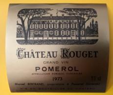 10215 - Château Rouget 1973 Pomerol - Bordeaux