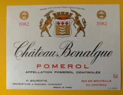10217 - Château Bonalgue 1982 Pomerol - Bordeaux