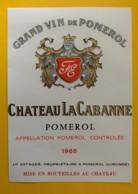 10220 - Château La Cabanne 1966 Pomerol - Bordeaux