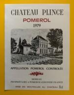 10236 - Château Plince 1979 Pomerol - Bordeaux