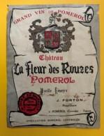10241 - Château La Fleur Des Rouzes  Pomerol Endommagée - Bordeaux