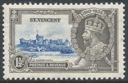 St Vincent. 1935 KGV Silver Jubilee. 1½d MH. SG 143 - St.Vincent (...-1979)