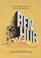 Histoire De La Réalisation De Ben-Hur + 3 Tickets Entrée 1961(12 Pages R/V Fmt A 4) - Cinéma/Télévision