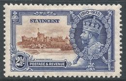St Vincent. 1935 KGV Silver Jubilee. 2½d MH. SG 144 - St.Vincent (...-1979)
