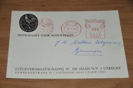 49-     BEDRIJFSKAART, UITGEVERSMAATSCHAPPIJ W. DE HAAN N.V. - UTRECHT - 1954 - Andere
