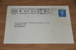 50-     BEDRIJFSKAART, UITGEVERSMAATSCHAPPIJ W. DE HAAN N.V. - UTRECHT - 1952 - Andere