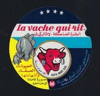 """Etiquette Fromage  Pour Tartines La Vache Qui Rit écriture étrangère  """"éléphant Et Son éléphanteau"""" - Formaggio"""