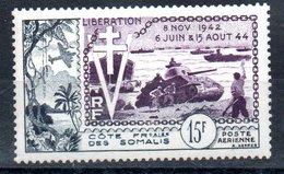 Côte Française Des Somalis Franz. Somaliküste Luftpost Y&T PA 24** - Französich-Somaliküste (1894-1967)