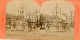 Photo  Stéréoscopique - PLOUGASTEL  DAOULAS  -   Le Calvaire  (1602) - Photos Stéréoscopiques
