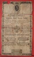 5 Gulden Wiener Stadt Banco-Zettel 1.6.1806 (WPM A38) - Austria