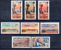 Côte Française Des Somalis Franz. Somaliküste Y&T 254* - 258*, 264* - 270*, 287* - 289* - Französich-Somaliküste (1894-1967)