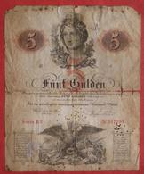5 Gulden 1859 (WPM A88) - Austria