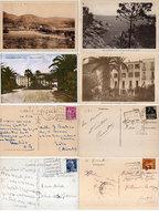 CAVALAIRE - 4 CPA Avec Cachets Daguin - Vue Gle, Rochers De Lacron, Hotel De Pardigon, Hotel De Cavalaire    (112297) - Cavalaire-sur-Mer