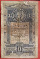 1 Gulden 1882 (WPM A153) - Austria