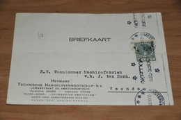 55-     BEDRIJFSKAART, HEYMANS' TECHNISCHE HANDELSVENNOOTSCHAP N.V. - AMSTERDAM-ZUID - 1933 - Kaarten