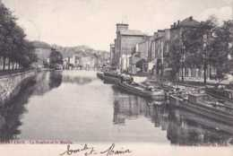Charleroi - La Sambre Et Le Moulin - Péniches - Circulé En 1906 - Dos Non Séparé - TBE - Charleroi