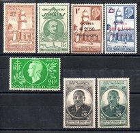 Côte Française Des Somalis Franz. Somaliküste Y&T 248**, 250* - 252*, 253**, 264**, 265* - Französich-Somaliküste (1894-1967)