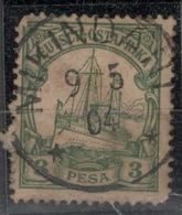 D.O.A.DEUTSCH OSTAFRIKA.1901.MICHEL N°12.OBLITERE.19D35 - Colonie: Afrique Orientale