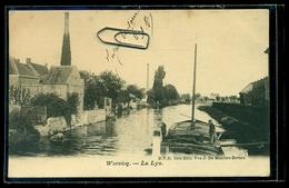 CPA  WERVICQ  SUD  LA LYS  PENICHE  W2 - France