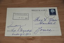 54-     BRIEFKAART,   SMEDERIJ WED. ?? - OUDEGA - 1955 - Andere