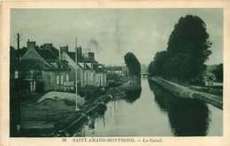 CHER  SAINT AMAND  MONTROND  Le Canal - Saint-Amand-Montrond